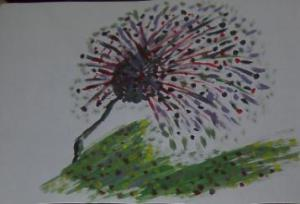 Pusteblume Zeichnung