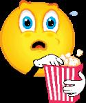 popcorn smiley