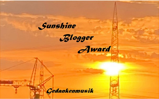 sunshine blogger award 2